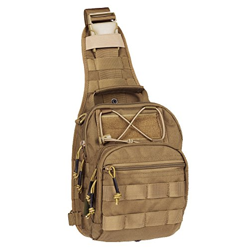 e6912bf1f0 Tactical Pilot Gear.com Reebow Gear® Military Tactical Sling Bag Pack EDC  Molle Fly Fishing P