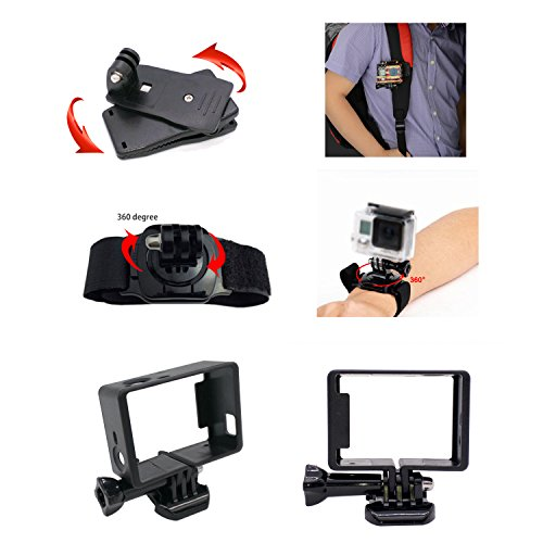 ... Lifelimit Accessories Starter Kit for Gopro Hero 5 Session 4 3 2 ... 7840d06fa44f