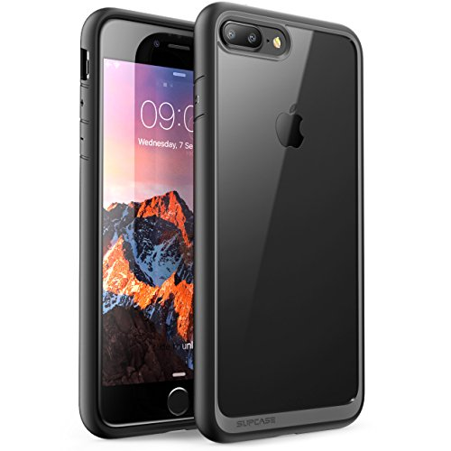 on sale a9c7a 7f7ad Supcase Unicorn Beetle Hybrid Scratch Resistant Clear Bumper Case for Apple  iPhone 7 Plus - Black